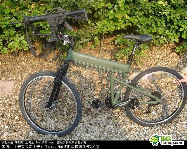 美军突击自行车图片